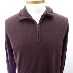 Weatherproof Vintage Men's 1/4 Zip Long Sleeve NWT